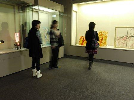 1Fフュージング画の展示室
