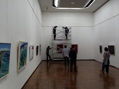 茨城現展の展示風景1