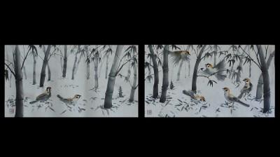 「竹林」の原画