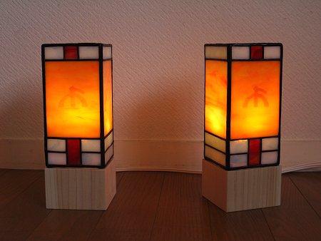 神棚に載せるミニ行燈