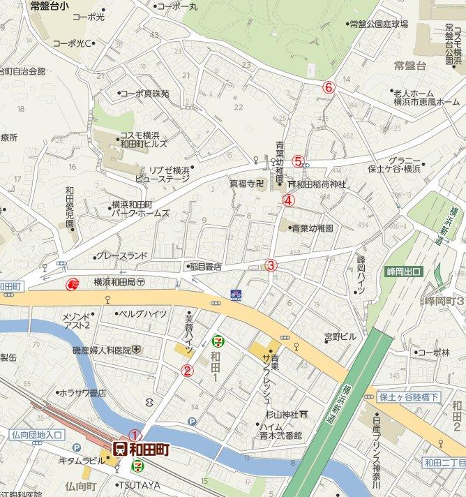 横浜国大周辺マップ1
