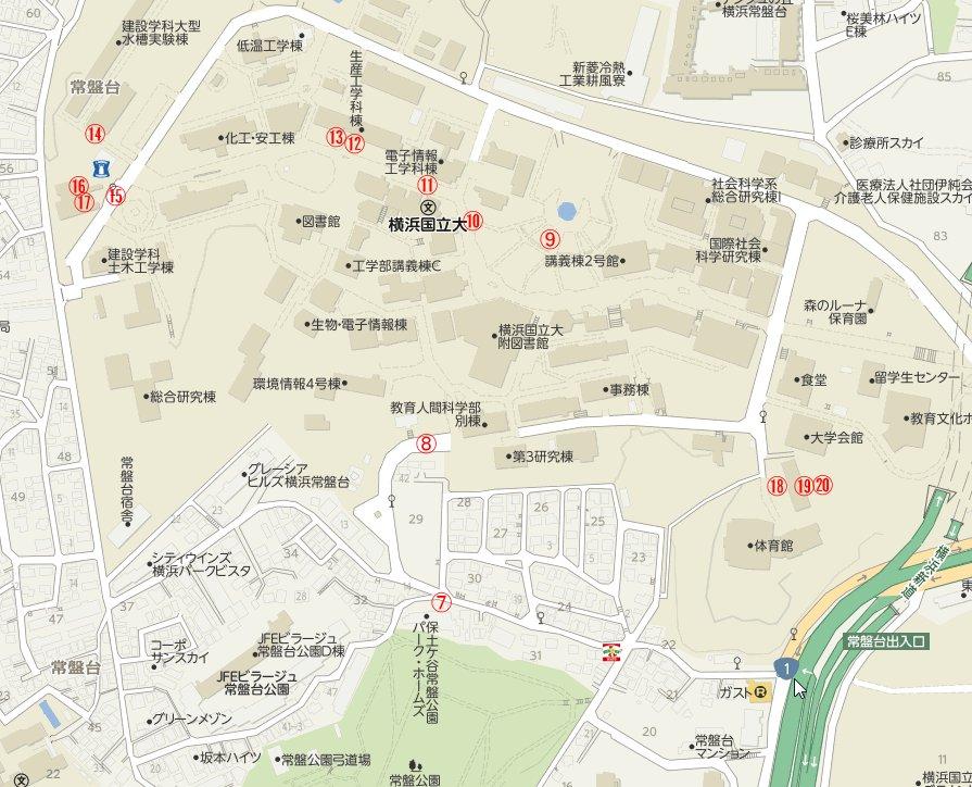 横浜国大周辺マップ2