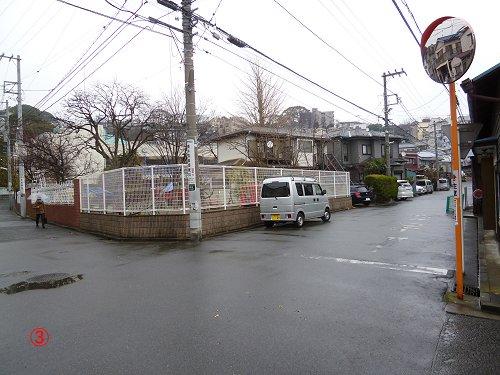 通学路の分岐点