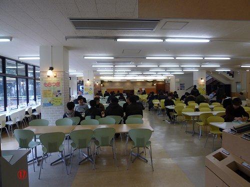 第2食堂内部
