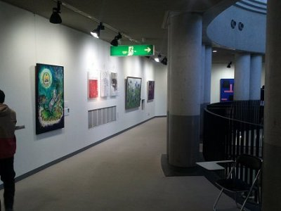 展示会場2階の様子