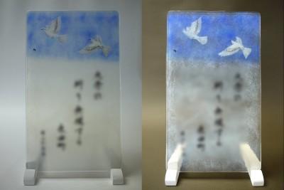 No.043 飛翔する鳩