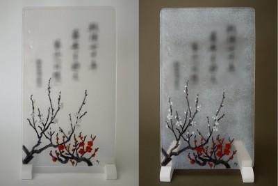 No.115 紅白の梅