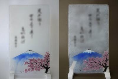 No.130 桜と富士山