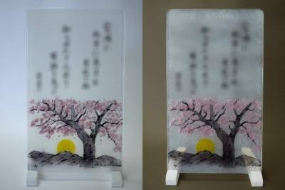 No.131 桜と満月