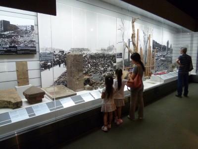 原爆資料館で平和教育... 一度は直視しておくべき「歴史的事実」だと思いました。