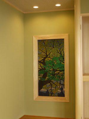 「緑のシンフォニー」という木漏れ日を主題にした作品