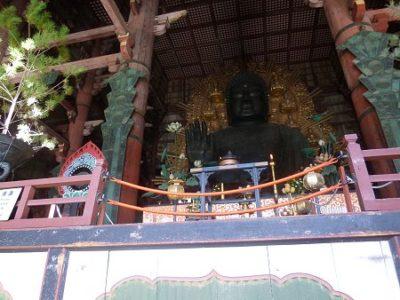 奈良の東大寺 大仏