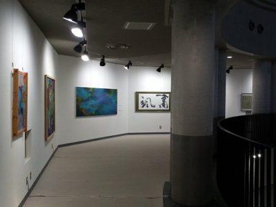 様々な作品が、展示してあります
