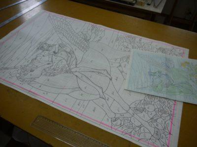 原寸大型紙。