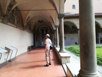 サン・マルコ美術館の回廊