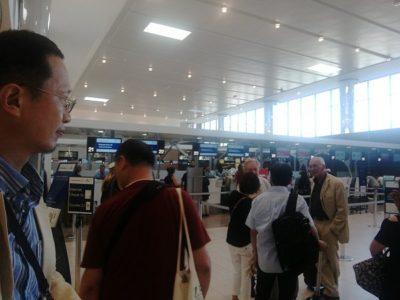 翌日7月13日、フィレンツェ空港から帰途に