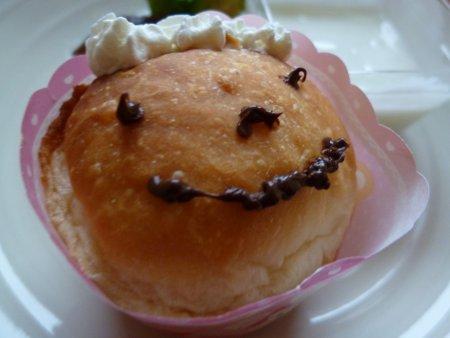 子供達の朝食には、可愛く小細工しました。