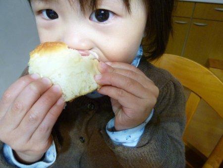 甘いもの大好きな次女には、堪らないパンでした。