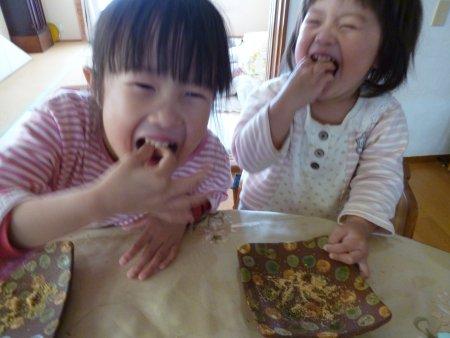 子供達はこのお餅が大好きです。