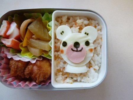 白熊ちゃん弁当。