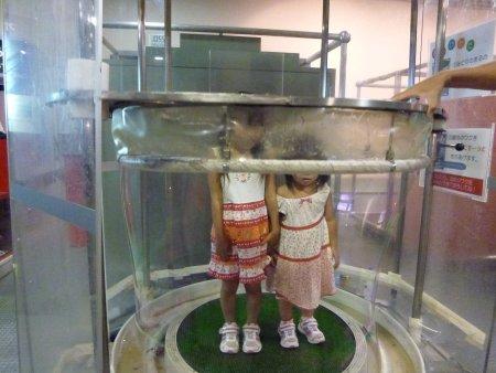 つくばエキスポセンターに行きました。巨大なシャボン玉に入る体験をしたり、プラネタリウムを見たり・・子供達は大喜びでした。