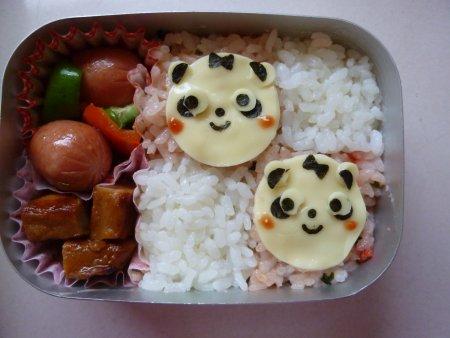 パンダさん弁当。