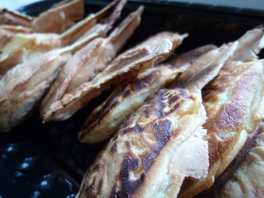 各10個ずつで計20個のたい焼きは2日間で完食。